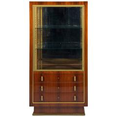 Rosewood Display Case by Jean Royere
