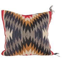 Navajo Indian Weaving Geometric Pillow