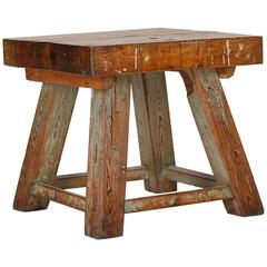 Solid Wooden Table, 1940s