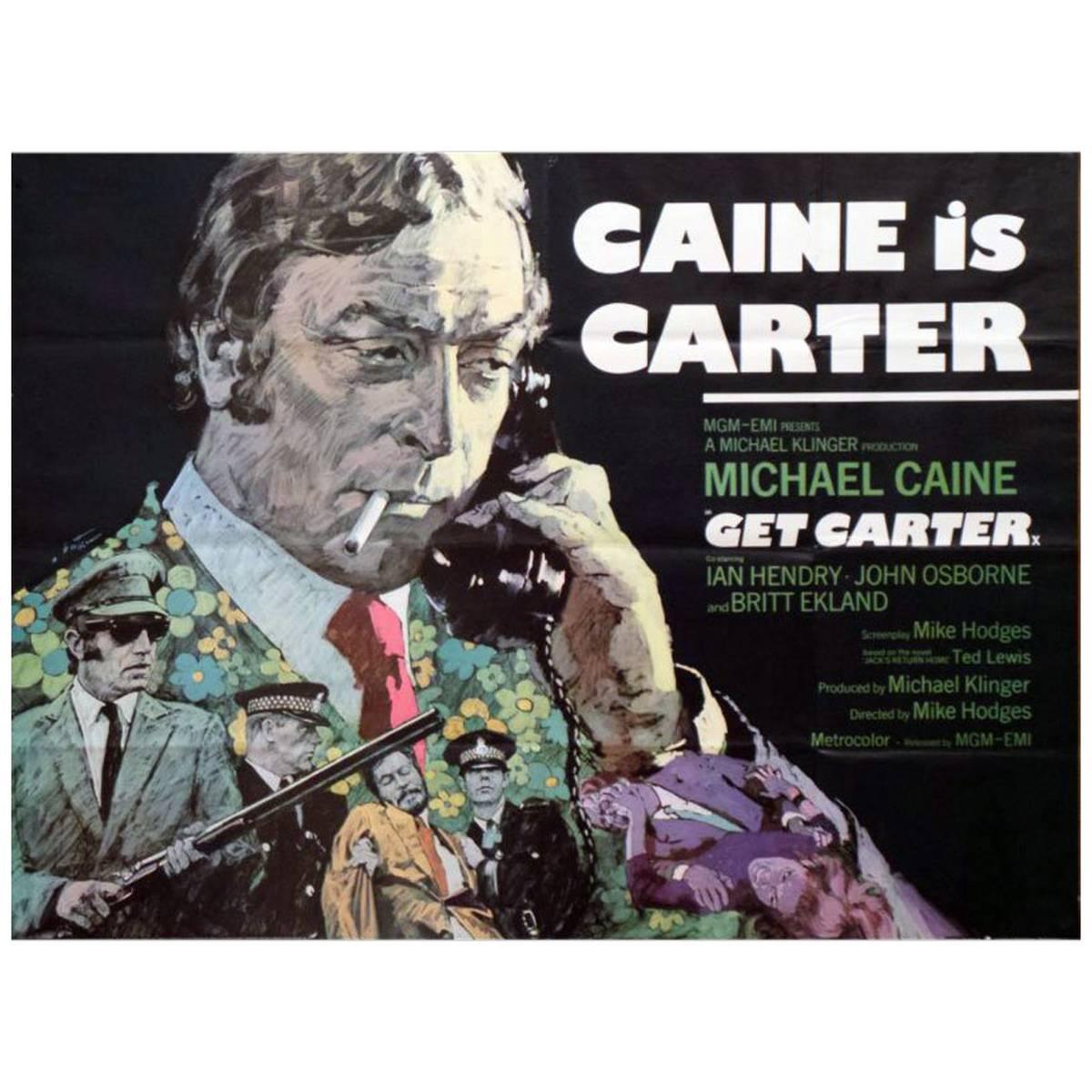 """Get Carter"" Film Poster, 1971"