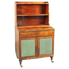 Regency Mahogany Lady's Writing Cabinet