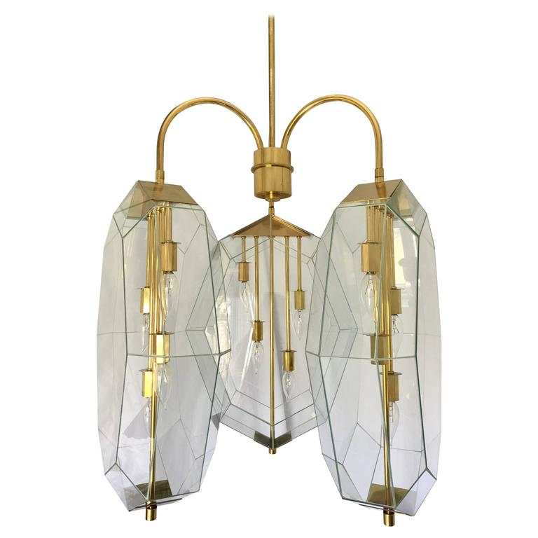 Original Morrison Custom Lighting Chandelier