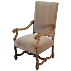 1920s Spanish Revival Tall Back Armchair