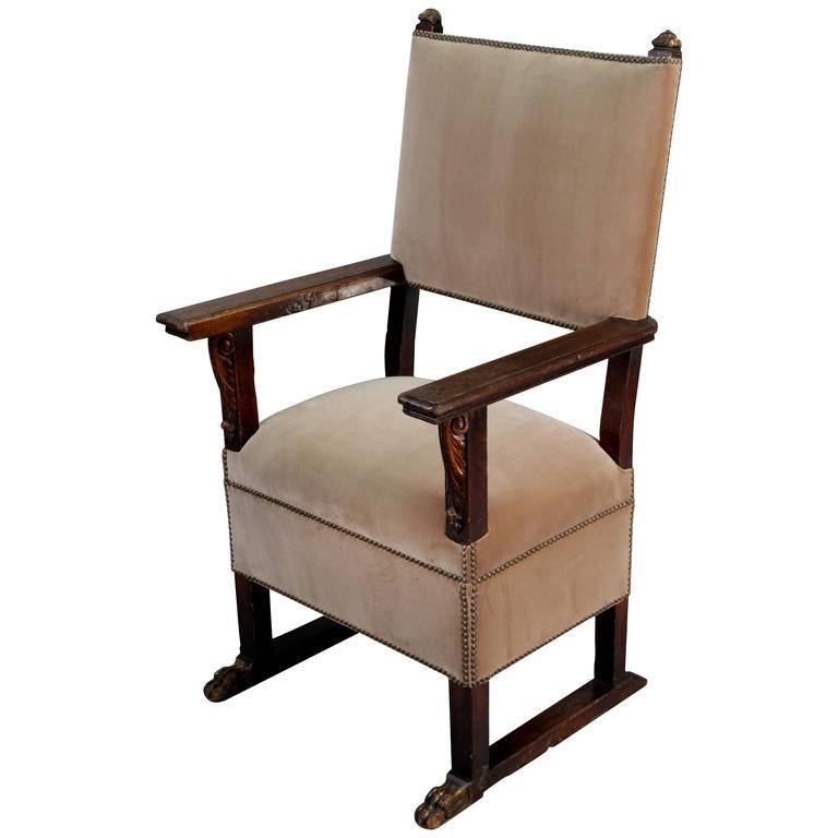 Turn of the Century Spanish Chair