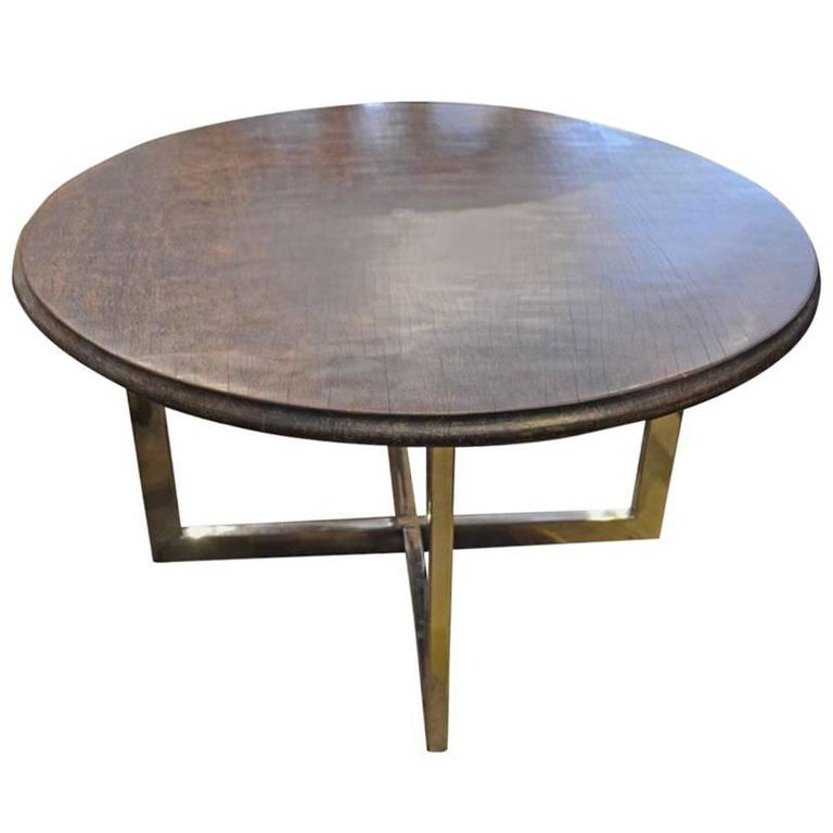 Andrianna Shamaris Ulin Wood Cocktail or Side Table