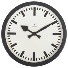 Very Big Industrial or Station Siemens Clock
