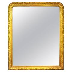 Extra Large English over Mantle Mirror