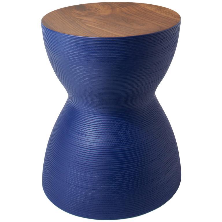 Yoyo Stool, Hand Turned, Hardwood Side Table or Seating