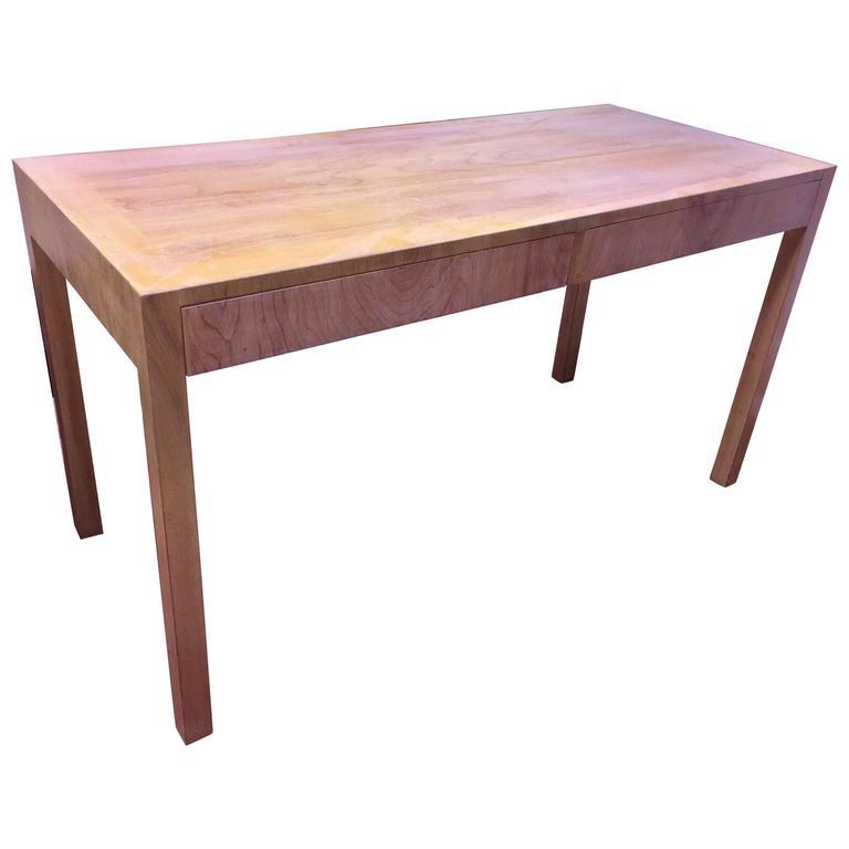 Custom Robsjohn-Gibbings Walnut Desk For Sale