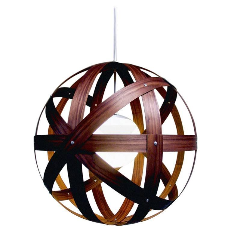Meridian 30 Walnut Pendant