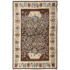 Antique Bessarabian Kilim Rug