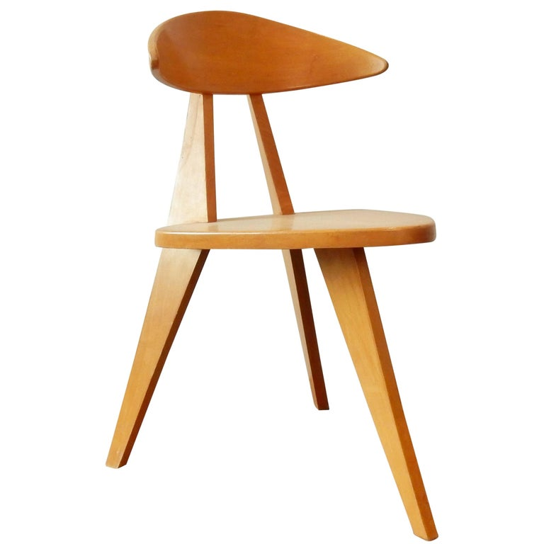 Model '360' Children Chair by Walter Papst for Wilkhahn, Germany, 1950s For Sale