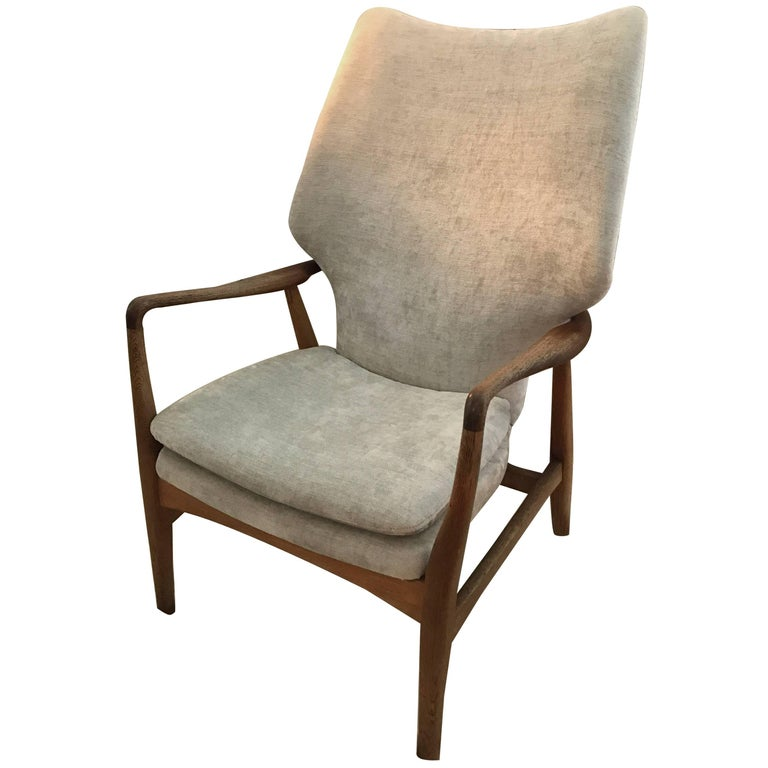 Lounge Wingback Chair by Aksel Bender Madsen
