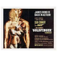 """""""Goldfinger"""" Film Poster, 1964"""