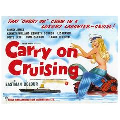 """""""Carry On Cruising"""" Film Poster, 1962"""