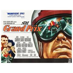 """Grand Prix"" Film Poster, 1966"