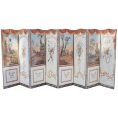 18th C. French Double-Sided Panel Screen