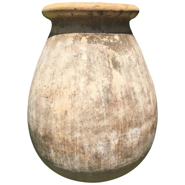 Stunning Large French Terracotta Biot Pot, circa 1800