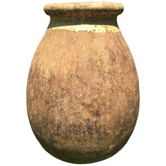 Rare Large Terracotta French Biot Pot, circa 1800