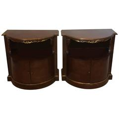 Vintage Pair of Karges End or Bedside Tables