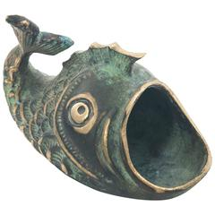 Fish Ashtray by Walter Bosse