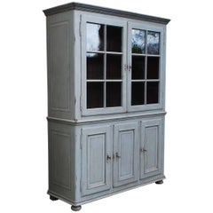 19th Century Painted Oakwood Cabinet