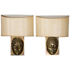 Elegant Pair of Sconces