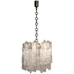 Mid-Century Modern Chandelier Designed by Toni Zuccheri for Venini