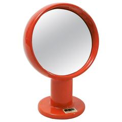 Table Mirror in Ceramic by Ambrogio and Franco Pozzi