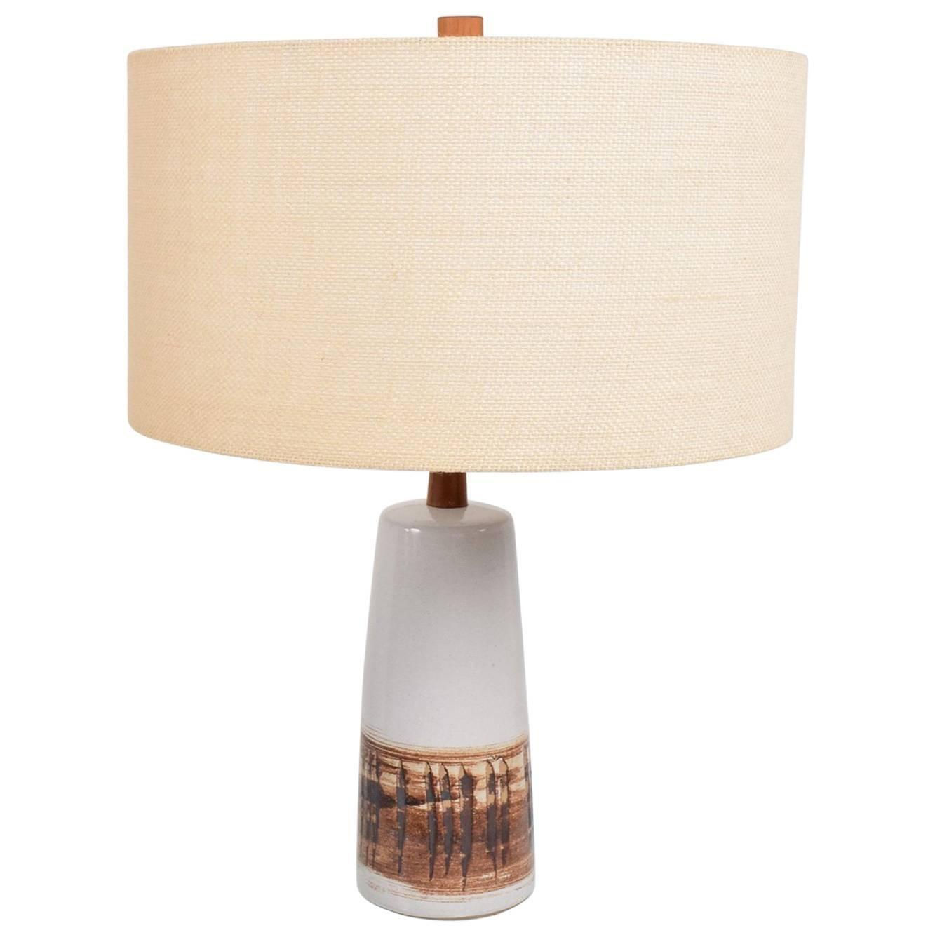 Mid-Century Modern Gordon Martz Ceramic Table Lamp