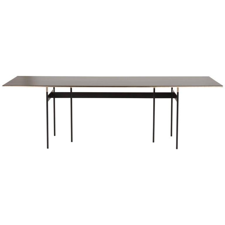 Tartan Metal Table Designed by Simone Bonanni for Mingardo For Sale
