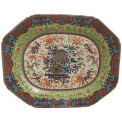 18th Century Clobbered Platter