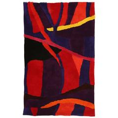 Vibrant Edward Fields Tapestry or Rug
