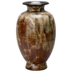 Mid-Century Signed Fernand Carpent Belgium Vase