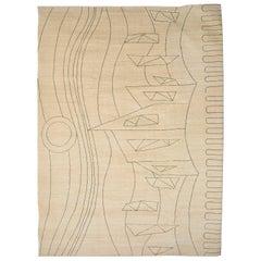 "Orley Shabahang Signature ""Canyon Sunset"" Carpet in Handspun Wool"