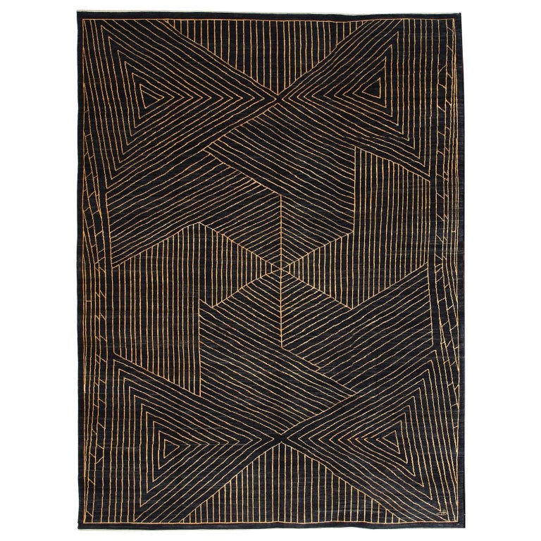 Orley Shabahang Signature Persian Carpet in Handspun Wool and Vegetable Dyes For Sale