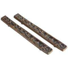Bronze Door Pulls by Forms and Surfaces.