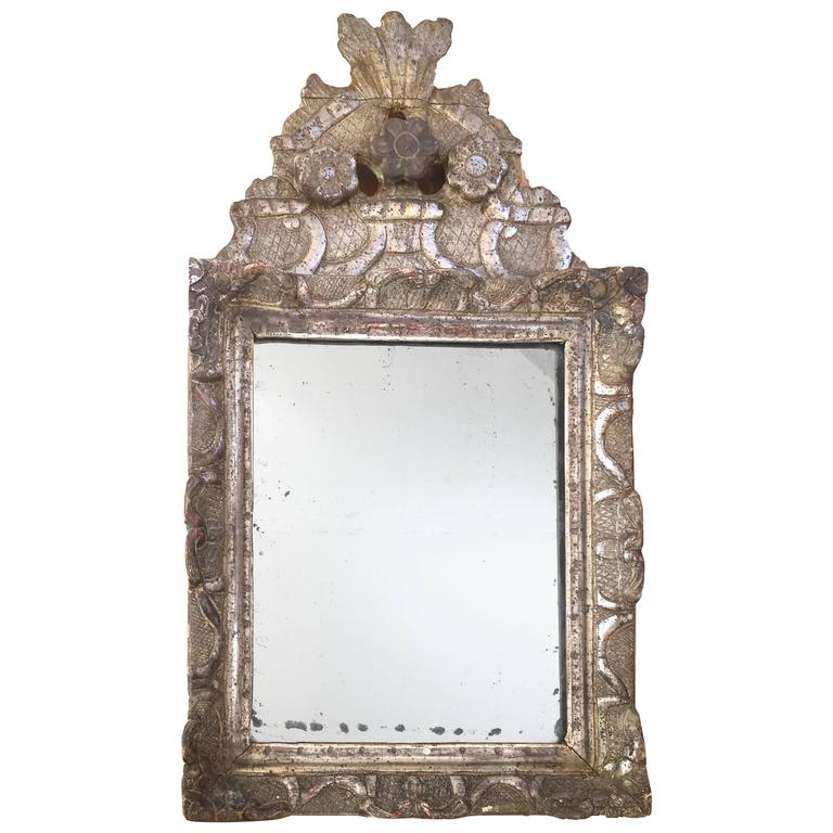 Early 18th Century French Regence Giltwood Mirror For Sale