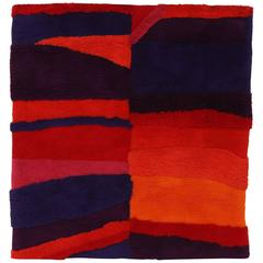 Edward Fields Vibrant Wool Tapestry or Rug
