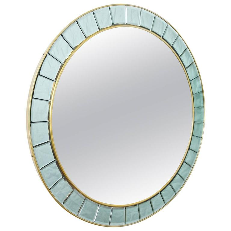 Large Round Mirror For Sale At 1stdibs