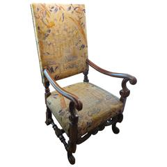 19th Century Needlepoint Chair