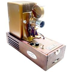 Animatic Projector As Sculpture Designd by Famous Beatles Animator Georg Dunning