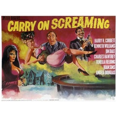 """""""Carry On Screaming"""" Film Poster, 1966"""
