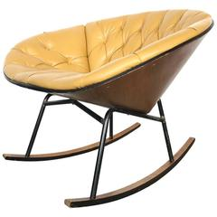 George Mulhauser Rocking Lounge Chair by Plycraft