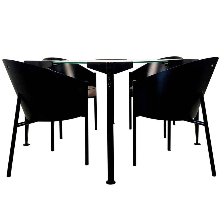 Four costes chairs by philippe starck for driade for sale at 1stdibs - Chaises philippe starck ...
