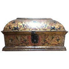 Extremely Rare Cassone late 15th Century Torino Family Savoye 1480-1490 dated