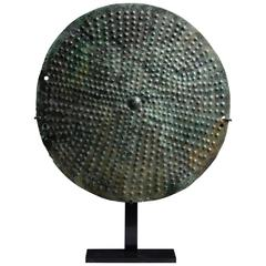 Ancient Etruscan Bronze Shield Boss, 650 BC