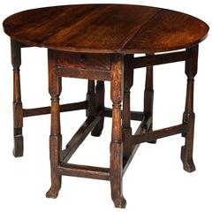 Diminutive Gateleg Table