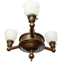 Bronze Light Fixture