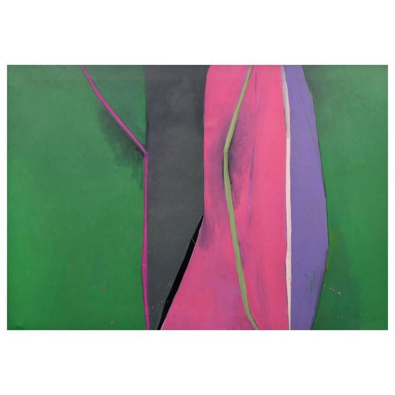 Large Robert Kiley Abstract Painting